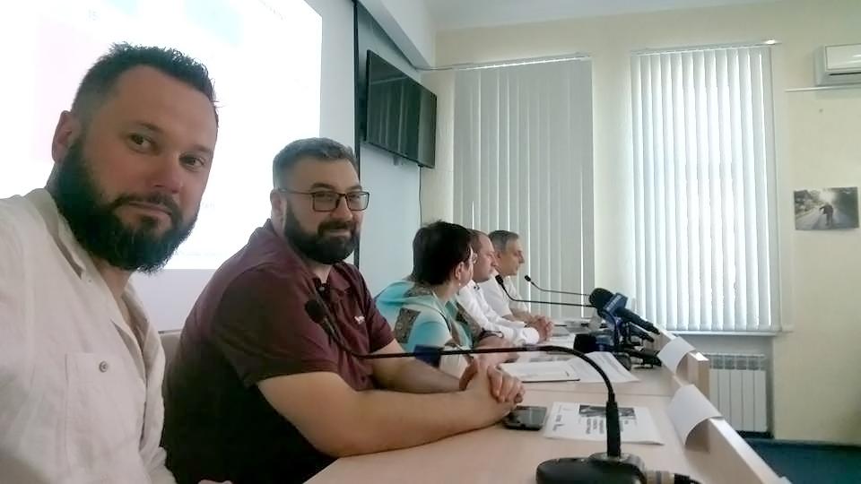 Сергій Мамаєв на круглому столі на тему «Роль регіональних телеканалів в розбудові громадянського суспільства місцевої громади»