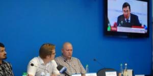 СергійГапоннапрес конференціїв УНІАН